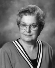 Marjorie A. Franklin, 2003 DESA Recipient