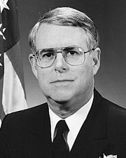 Rear Admiral J.T. Hood, 1996 DESA Recipient